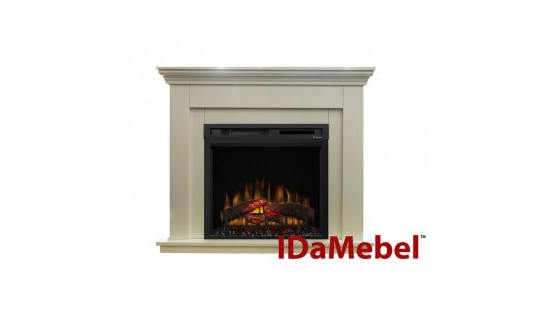 Каминокомплект IDaMebel Montreal NEW XHD28L-INT Белый